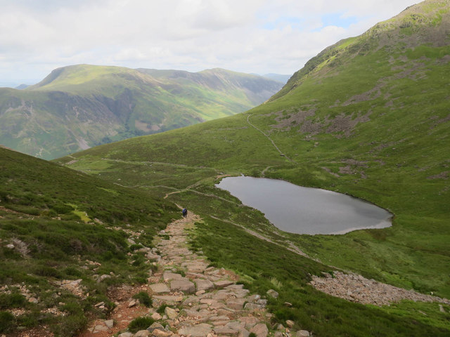 Made path to Bleaberry Tarn