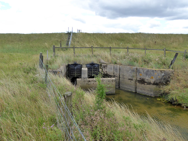 Hyde Marsh Drain Sluice