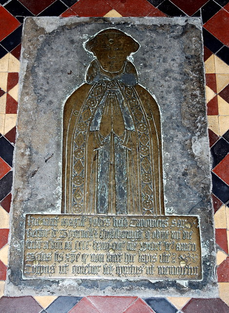 Brass to John Heth (d. 1464)...