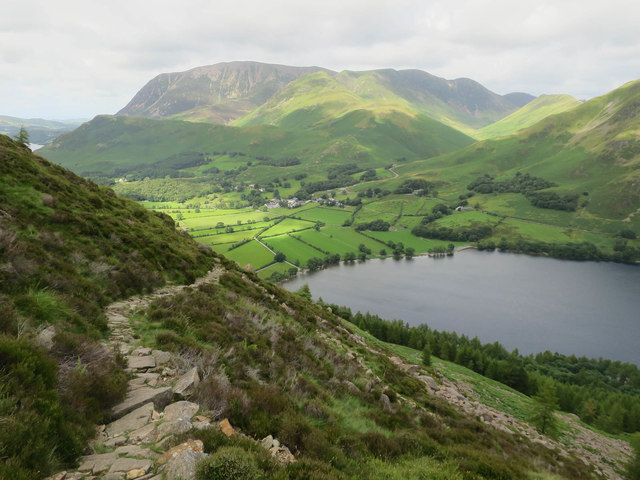 Made path down to Buttermere