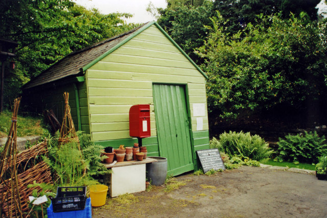 Outhouse at former Langley (Northumberland) station, 2000