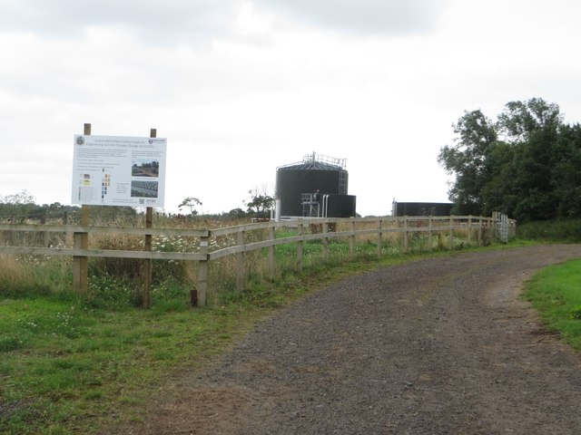 Anaerobic digester at Cockle Park