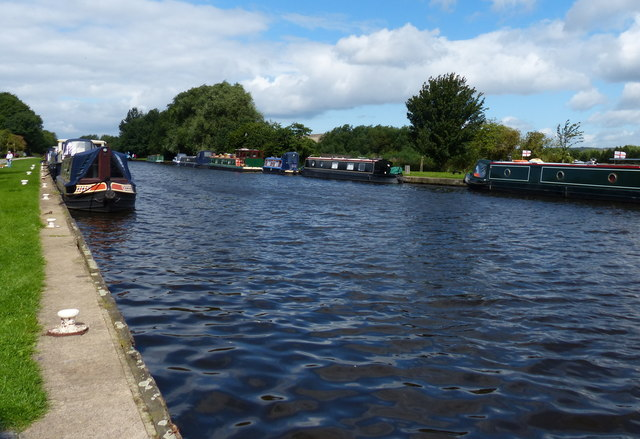 Aire and Calder Navigation at Woodlesford