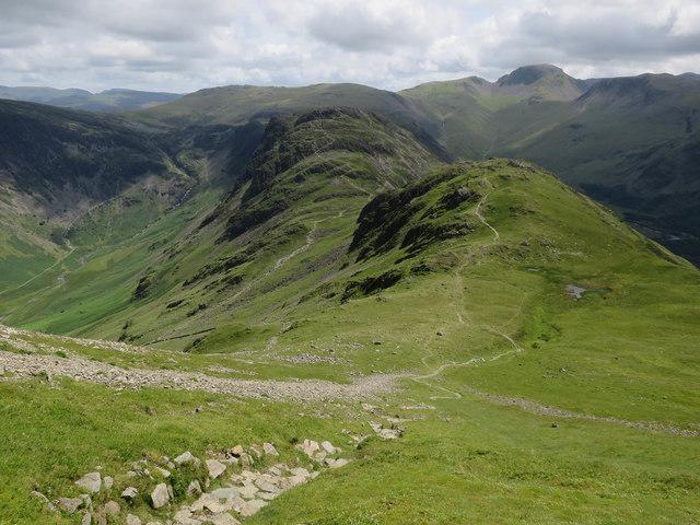 Path down High Crag