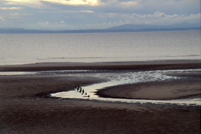 The beach at Aberlady Bay
