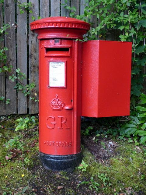 Pillar box in Skelmorlie