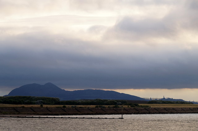 Arthur's Seat from Morrison's Haven, Prestonpans