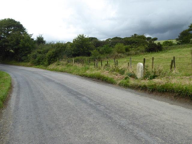 Road across Bodmin Moor at Racecourse Downs