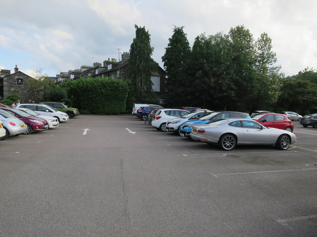 Car park, Ambleside