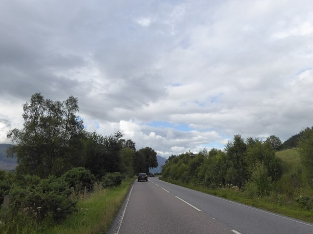 A82 north of Stronaba