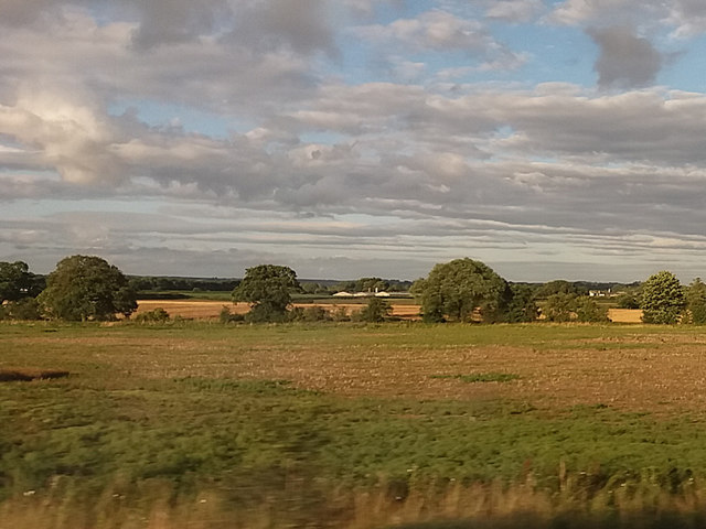 Manor Farm from the railway