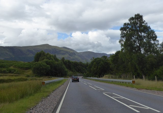 A82 south of Invergloy House