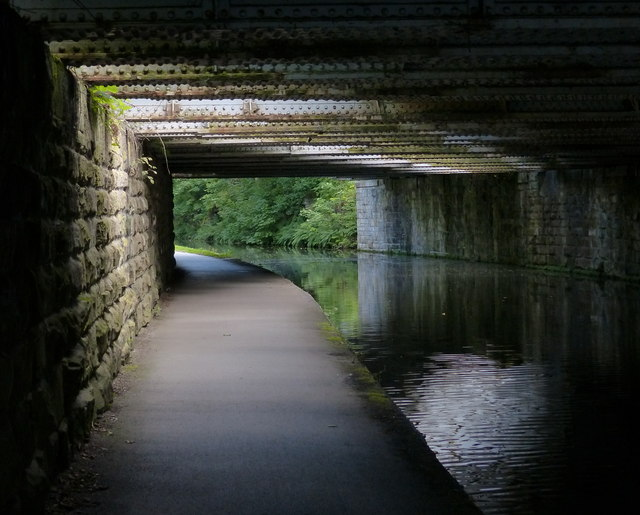 Towpath under Railway Bridge No 224A