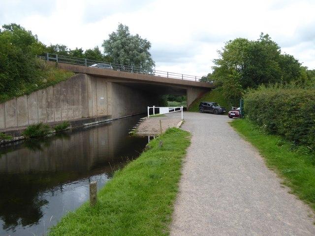 Boehill Bridge and slipway