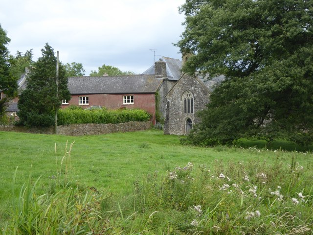 Ayshford Court and chapel