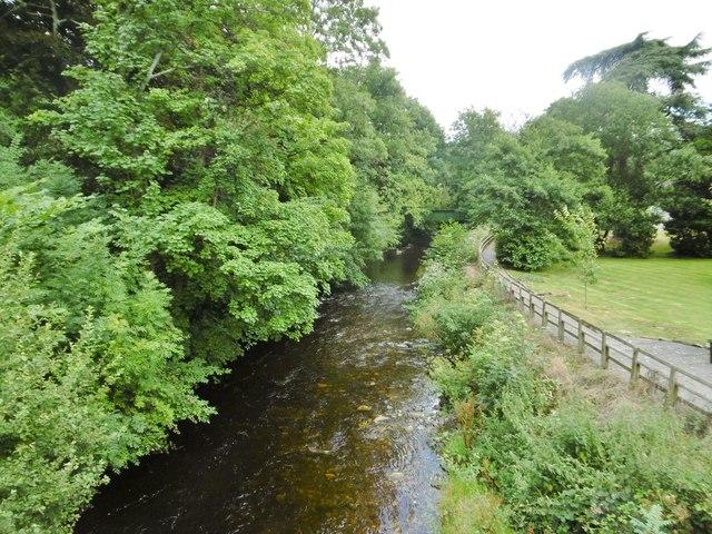 Dolywern, Afon Ceiriog