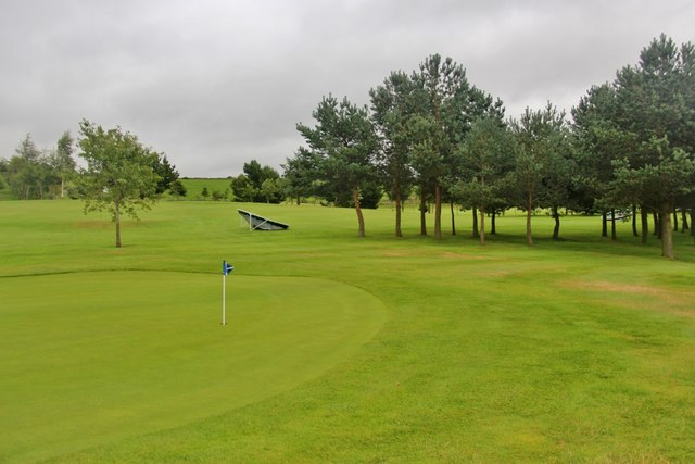 Green on Kintore Golf Course