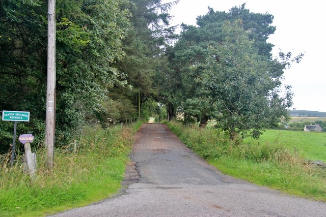 Access to houses at Backhill