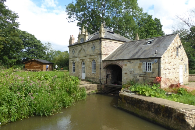 In flow at Howsham Mill