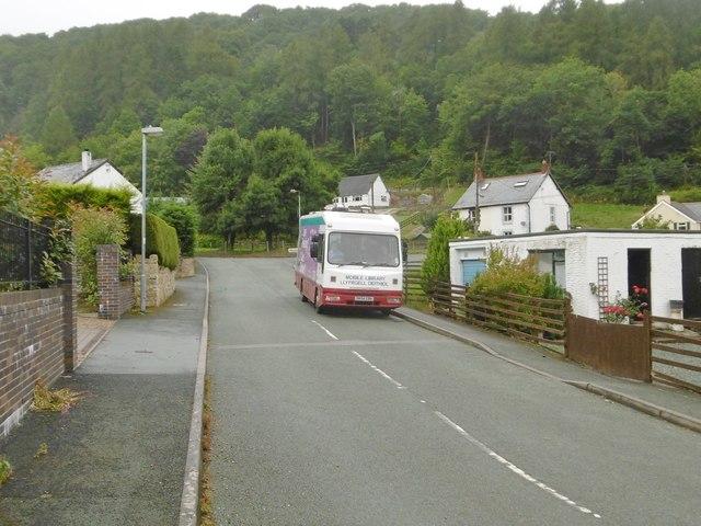 Glyn Ceiriog, mobile library