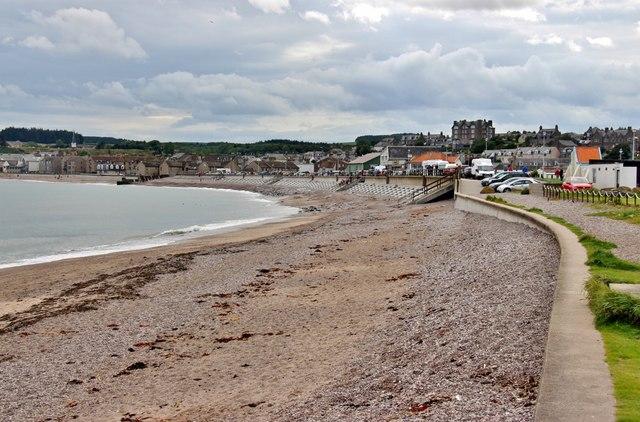 Beach at Cowie