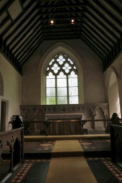 Altar & Chancel Window