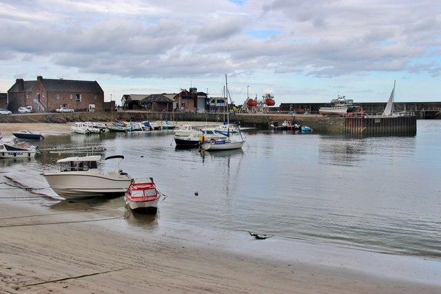 Stonehaven inner harbour