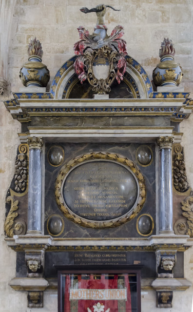Bidgood Monument, Exeter Cathedral