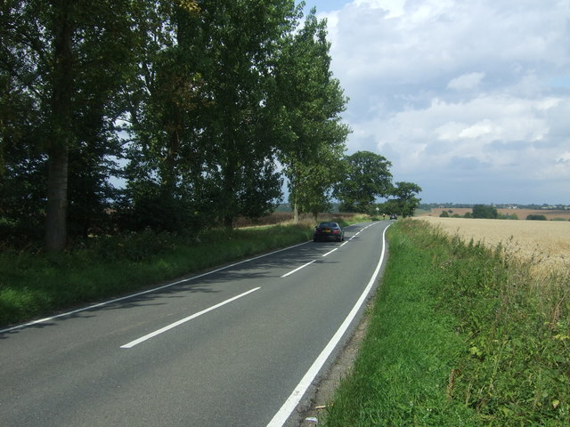 Bury Lane (B182) towards Epping Upland