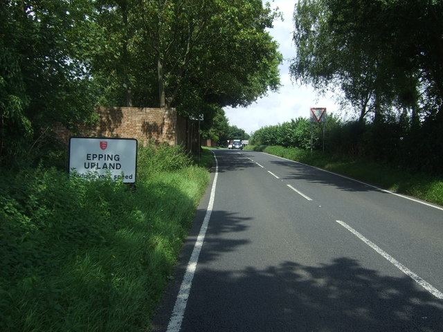 Entering Epping Upland