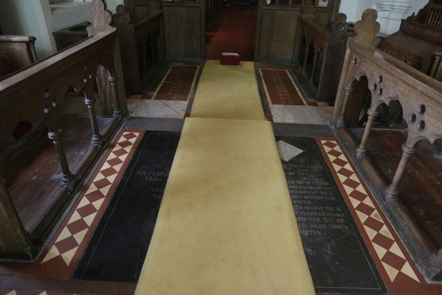 Floor of the Chancel