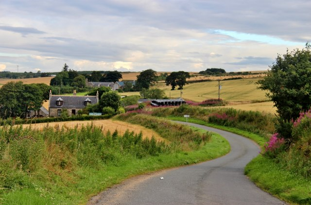 Minor road to 'The Blair'