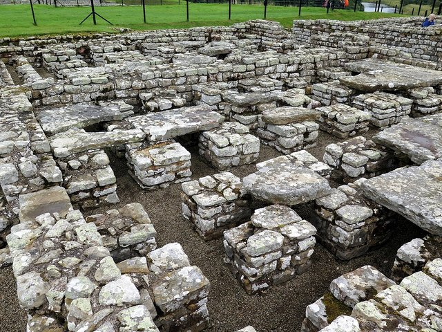 Hypocaust, Commanding Officer's House, Chesters Roman Fort
