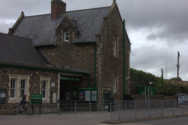 Barnstaple station building