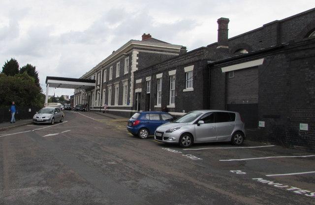 Worcester Shrub Hill railway station approach
