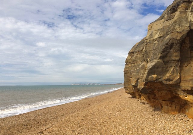 Coast near Shepherd's Chine, Isle of Wight
