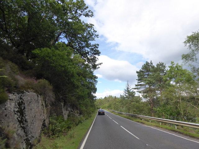 A82 by Loch Oich