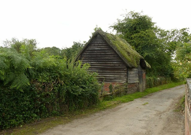 Thatched barn, Tattle Lane, Dale Abbey