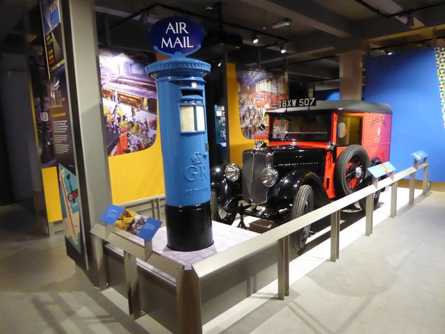 A visit to the new Postal Museum (d)