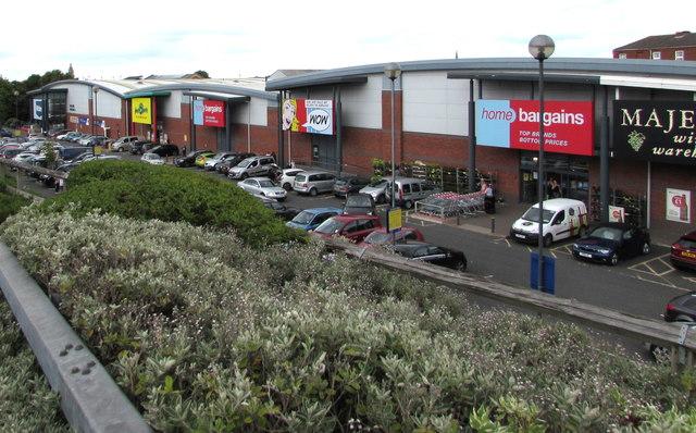Shrub Hill Retail Park, Worcester