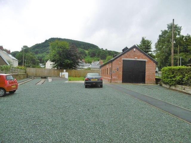Glyn Ceiriog, engine shed