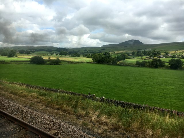 View from a train