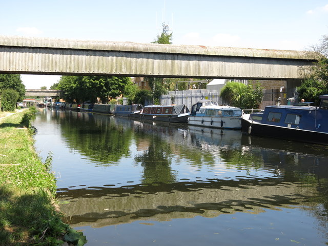 The Grand Union Canal by Culvert Lane