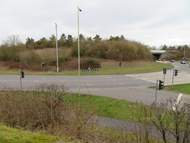 Aldermaston roundabout