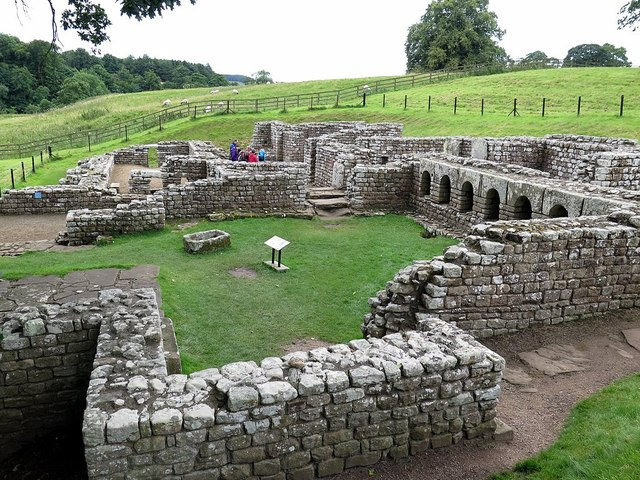 Remains of Bath House, Chesters Roman Fort