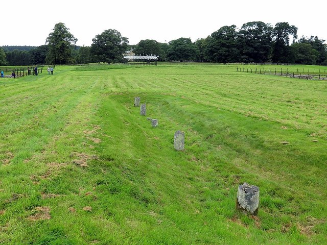 Chesters Roman Fort, south side