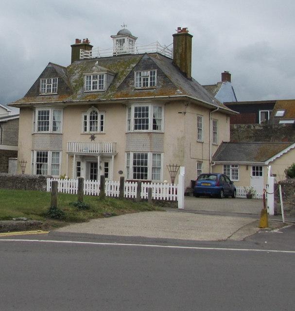 Grade II listed The Moorings, West Bay