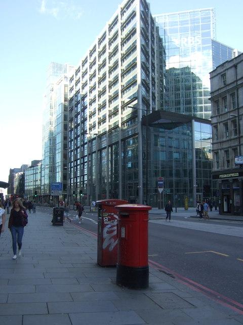 RBS Bank building on Bishopsgate, London E10