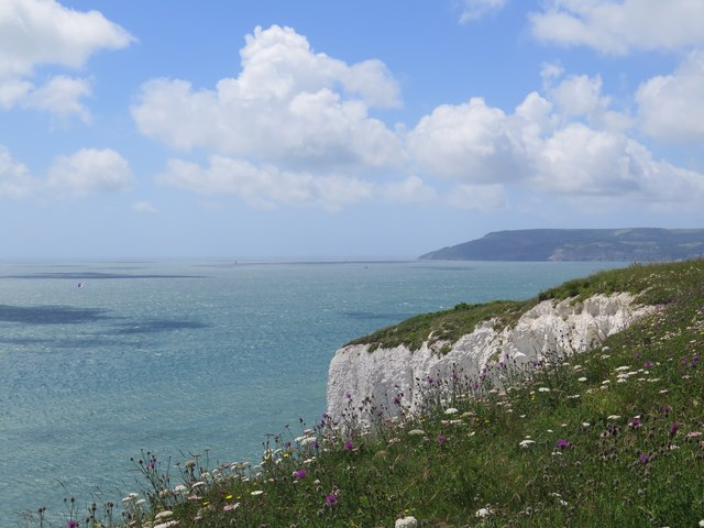 View  from the end of Culver Down, Isle of Wight