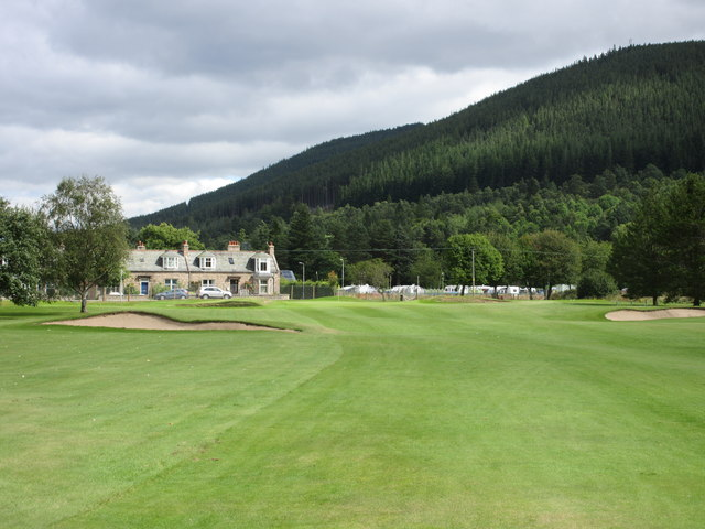 Ballater Golf Course, 2nd hole, Pannanich